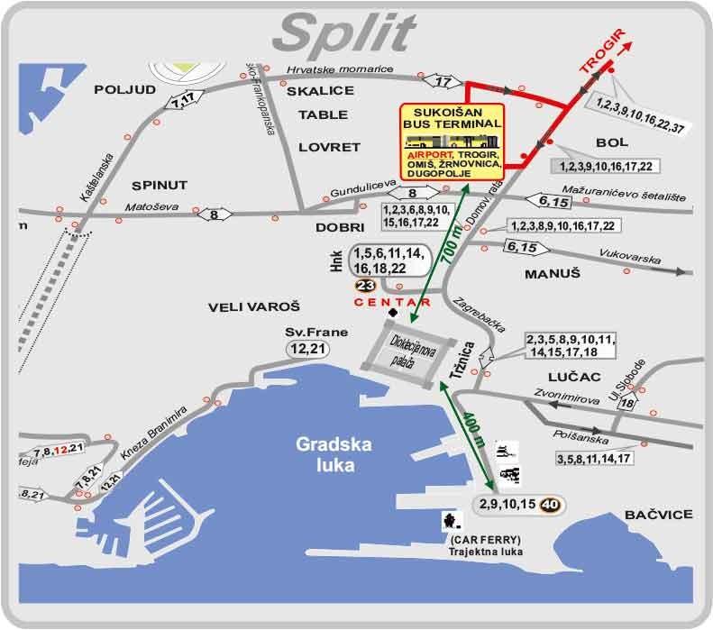 Promet Split Menu2 Bus Line 37